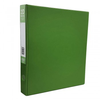 CBE 2D635 2-O 25MM PVC Ring File(A4) Green