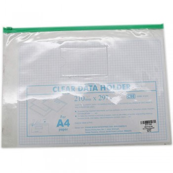 CBE 01314 Zip Document Bag (A4) GREEN