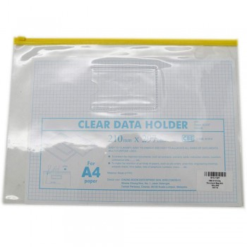 CBE 01314 Zip Document Bag (A4) YELLOW