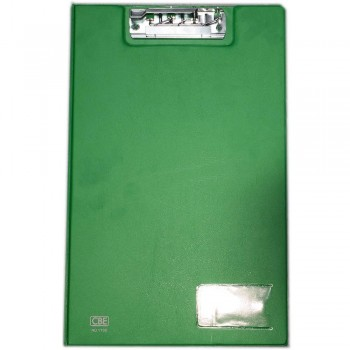 CBE 1100 PVC Clip File (F4) GREEN (Item No: B10-64 G)