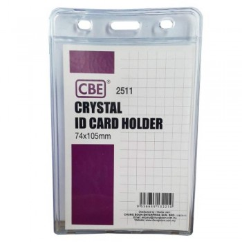 CBE 2511 Crystal ID Card Holder - 74 x 105mm (B10-166) A1R3B123