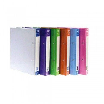 CBE 2D6252 PVC 2-D 25MM Ring Binder File (A4)