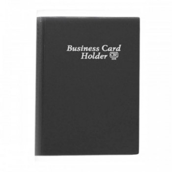 CBE 320E PVC Name Card Holder - Black