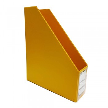 "CBE 412 3"" PVC Box File (A4)-yellow (Item No: B10-114) A1R5B78"