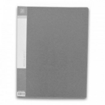 CBE 76020 Clear Holder 20 Pockets GRY-A4 (Item No: B10-10 GY)