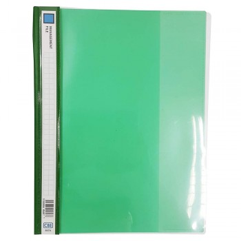 CBE 807A PVC Management File (A4)-green (Item No: B10-118) A1R3B165