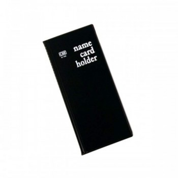 CBE N160 PVC Name Card Holder - Black (Item No: B01-16BK) A1R2B16
