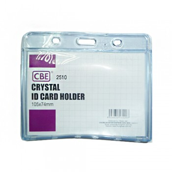 CBE 2510 Crystal ID Card Holder - 105 x 74mm (B10-165) A1R1B94
