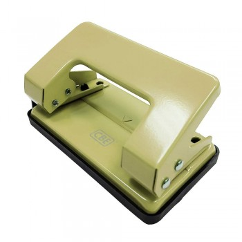 CBE 7171 Two Hole Punch (Small)-beige (Item No: B10-142) A1R3B30 (temporary no keep stock for Beige color)