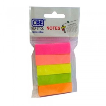 CBE 14040 Neon Color Sticky Flags (50mm x 15mm) (Item No: R04-24)