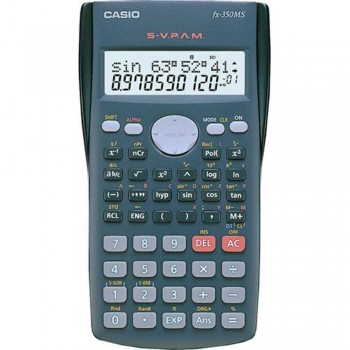 Casio Scientific Calculator fx-350MS - 12-Digit Electronic Calculator