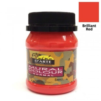 D'Arte Mural Colour - Normal - Small - Brilliant Red (Item No: B05-59 BR) A1R2B187