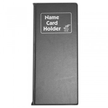 East File NH240 Name Card Holder Black