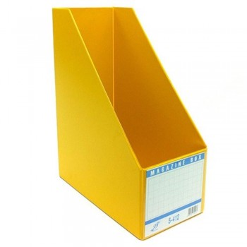 "EAST FILE PVC MAGAZINE BOX 412 4"" (Item No: B11-95 YL)"