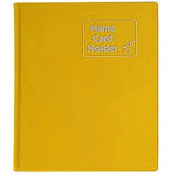 East File NH320 PVC Name Card Holder-Yellow (Item No: B01-48)  A1R2B18