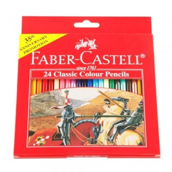 Faber Castell Classic Colouring Pencil-24L (Item No: B05-05) A1R2B192