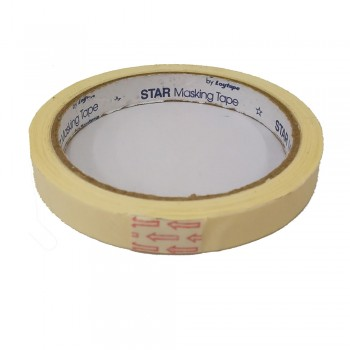 Star Masking Tape 12mm X 17yrd