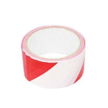 Hazard Warning Tape - Red and White, 48mm (Item No: B02-11 WT40X50) A1R2B52