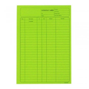 5006 120Gsm Stock Card 20'S Green