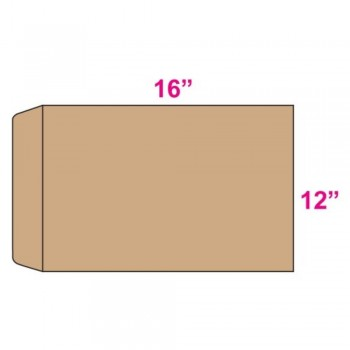Brown Envelope - Giant - 12-inch x 16-inch