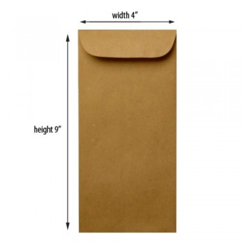 Brown Envelope - Manila - 9.5-inch x 4-inch