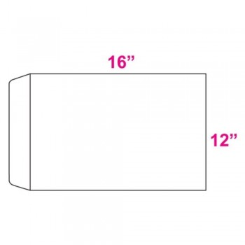 White Envelope - 100gsm - 250 pcs 12-inch x 16-inch (Item No: C03-19) A5R1B4