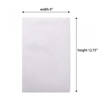 White Envelope - 100gsm - 250 pcs 9-inch x 12-inch (Item No: C03-12)