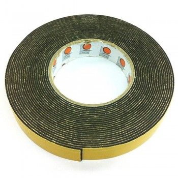 Foam Tape - 24mm x 10m, 3mm thick, Black (Item No:B02-10 DSF24X10) A1R2B51