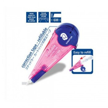 Staedtler Correction Tape Pink (5mm x 6m)