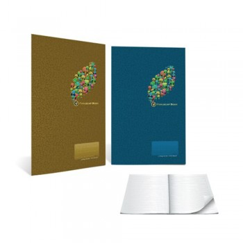 Standard F4 200page Hard Cover Foolscap Book (HCF6200)