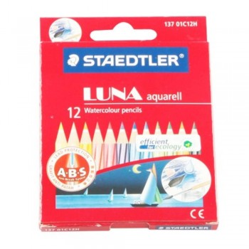 STAEDTLER 137 Luna Aquarell - Colour Pencils 12S (Item No: B05-50) A1R2B178