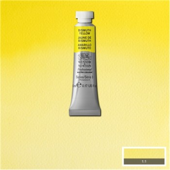 W&N Artists Water Colour 5ml 025 Bismouth Yellow S3