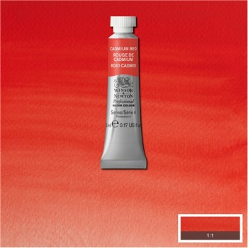 W&N Artists Water Colour 5ml 094 Cadmium Red S4