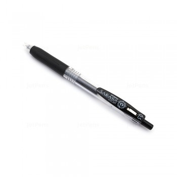 Zebra Sarasa Push Clip Gel Pen 0.5mm Black