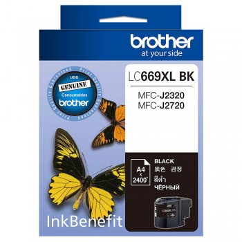 Brother LC-669XL BK Black ink cartridge