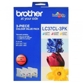 Brother LC-37 Color Value Pack