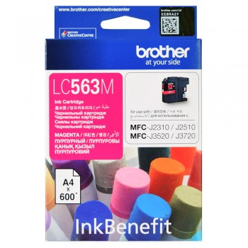 Brother LC-563 Magenta Ink Cartridge