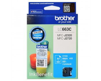 Brother LC-663C Cyan ink cartridge