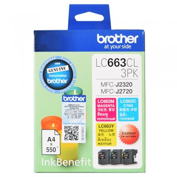 Brother LC-663 Color value pack