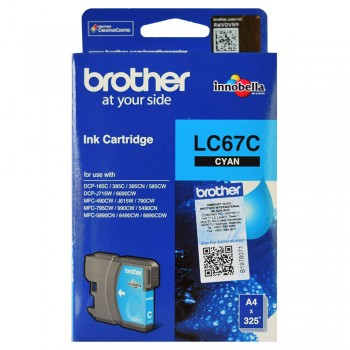 Brother LC-67 Cyan Ink Cartridge