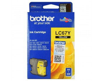 Brother LC-67 Yellow Ink Cartridge