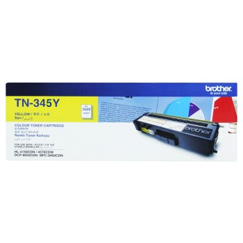 Brother TN-345 Yellow High Yield Toner