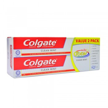 Colgate Total Professional Clean Mint Toothpaste Valuepack 150g x 2