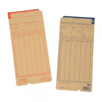 TIME CARD TRC WS (Brown)